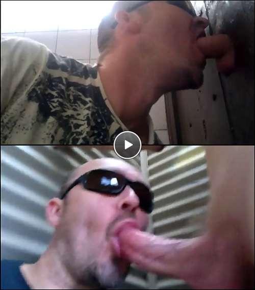 glory hole gay cum video