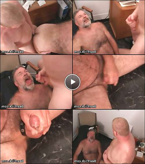 men gay hairy video