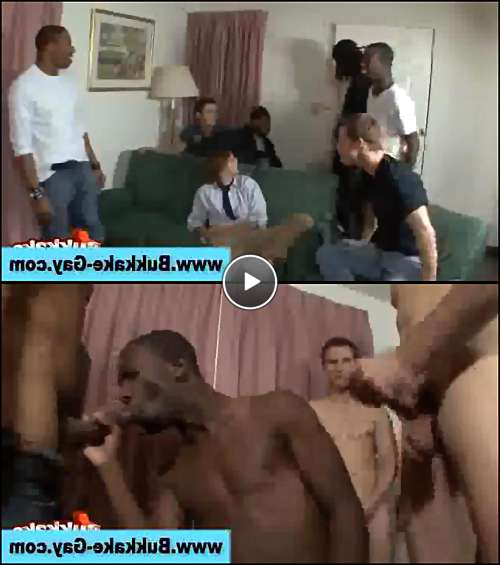 black gay gangbang video